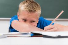 Schulstress Hausaufgaben